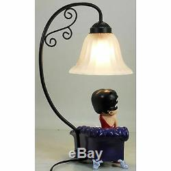 43cm Betty Boop Glamour Table Lamp With Pudgy Collectable Figurine