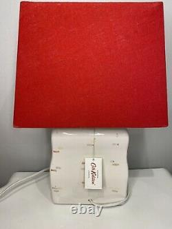 Cath Kidston Red Cottage Lamp Rare Item Brand New With Tags