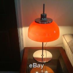 Harvey Guzzini Table Lamp 70s Vintage One owner from new. In best colour
