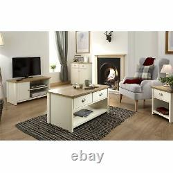 Lancaster Coffee Table Lamp Table Tv Stand Cabinet Sideboard Console Table Cream
