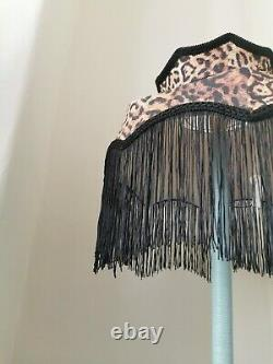 Leopard print Lisa lampshade crown for table light ceiling pendant standard lamp