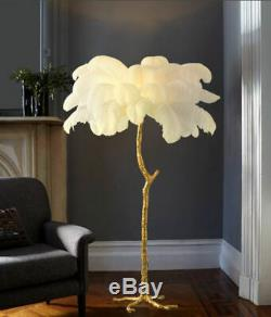 Modern Luxury Ostrich Feather Table Lamp AVAILABLE FOR LIMITED TIME
