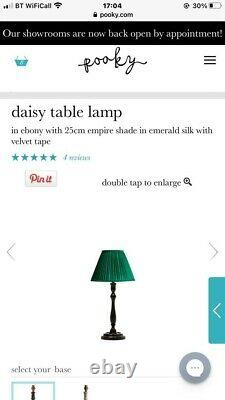 Pooky Daisy Table Lamps Pair