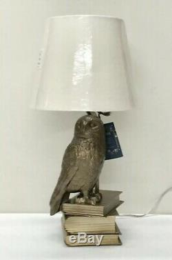 Pottery Barn PB Teen Kids NEW IN BOX Hedwig Table Lamp Harry Potter Snowy Owl