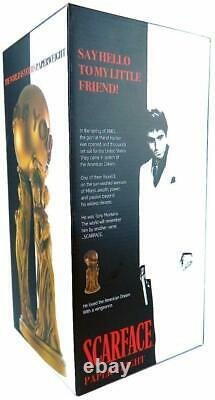 Scarface Movie Memorabilia The World is Yours 1 Ft. Tall Collectible Statue Film