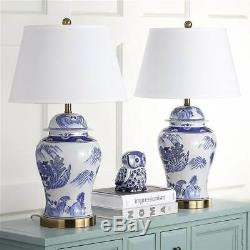Shanghai Ginger Jar Lamp in Blue and White Set of 2 ID 3754202