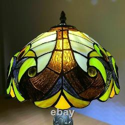 Tiffany New Style Table Lamp Handcrafted Bedside Desk Table Lamps Glass Stained