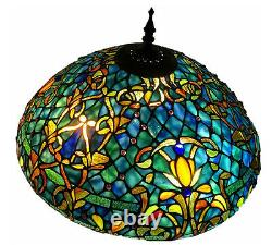 Tiffany Style Stained Glass Table Lamp Azure Sea with 20 Shade FREE SHIP USA