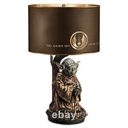 Yoda Star Wars Collectible Lamp Sculpture Do or Do Not There is no Try shade